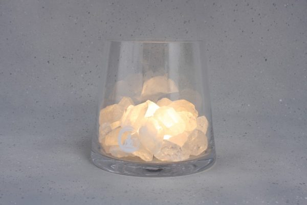 bergkristal lamp sense warm wit