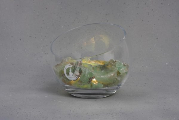 groene calciet lamp spirit warm wit